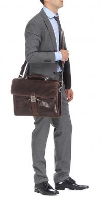 Портфель GERARD HENON 8128 коричневый