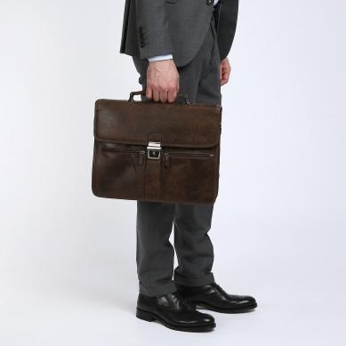 Портфель GERARD HENON 8126 темно-коричневый
