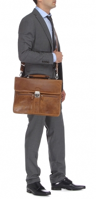 Портфель GERARD HENON 8125 светло-коричневый
