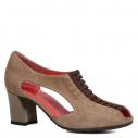 Женские Туфли Pas de rouge E823 серовато-коричневый