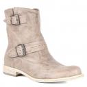 Женские Ботинки Nero giardini P308621D серо-бежевый