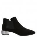 Женские Ботинки Casadei 1QE37C035 черный