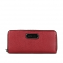 MARC by MARC JACOBS Slim Zip Around бордовый