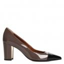 Женские Туфли Fabiani G1820/A серо-коричневый