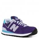 Женские Кроссовки New balance WL574 фиолетовый