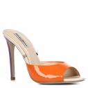 Женские Сабо Gianni renzi couture GD1201 оранжевый