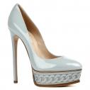Женские Туфли Casadei 1F350D140 голубовато-серый