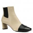 Женские Ботинки Casadei 1Q021D050 бежевый