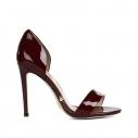 Женские Босоножки Gianni renzi couture GD1218 бордовый