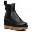 Женские Ботинки Jil sander navy JN27033 черный