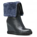 Женские Сникерсы Rejois RA0545 темно-синий