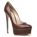 Женские Туфли Casadei 1F350D140 коричневый