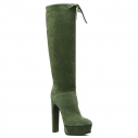 Женские Сапоги Casadei 1S739E140 зеленый
