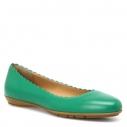 Женские Балетки Fabiani G3415 зеленый