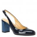 Женские Босоножки Fabiani G3128 темно-синий