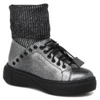 KISS MOON 8619-2-p темно-серый