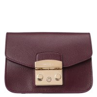FURLA METROPOLIS MINI CROSSBODY фиолетовый