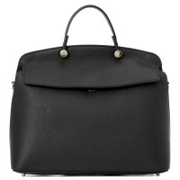 FURLA MY PIPER M TOP HANDLE черный