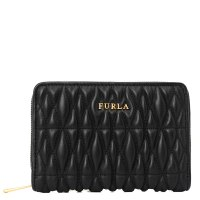 FURLA FURLA COMETA M ZIP AROUND черный