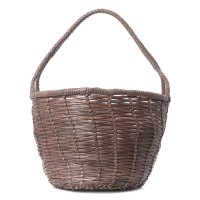 DRAGON JANE BIRKIN BASKET BIG темно-серый