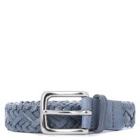 DRAGON 6002 WOVEN BELT серо-синий