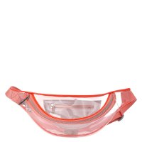 CALZETTI TRANSPARENT BELT BAG NEW розовый