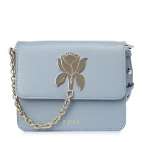 FURLA FURLA TUBEROSA MINI CROSSBODY серо-голубой