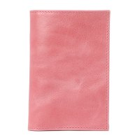 CALZETTI PASSPORT COVER розовый