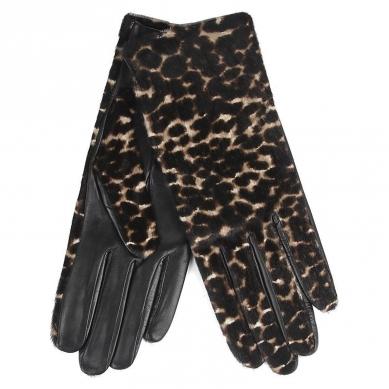 Перчатки AGNELLE 12/222/CALF/S леопардовый