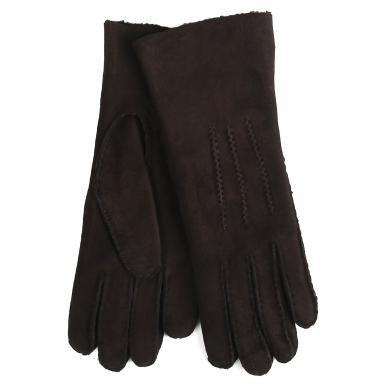 Перчатки AGNELLE CURLY/ND темно-коричневый