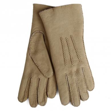 Перчатки AGNELLE CURLY/ND бежевый