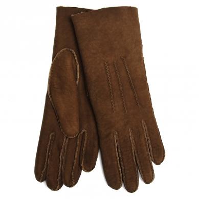 Перчатки AGNELLE CURLY/ND серо-коричневый