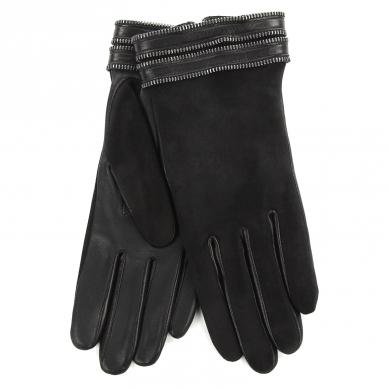 Перчатки AGNELLE GISELE/ZIPSUED/C черный