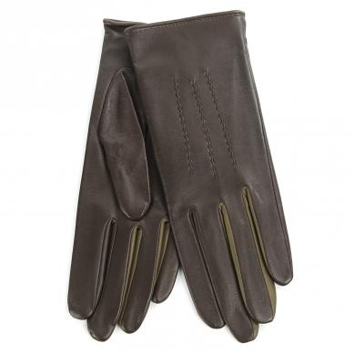 Перчатки AGNELLE JULIE/MULTI/S темно-коричневый