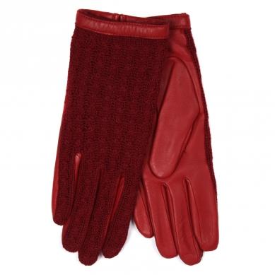 Перчатки AGNELLE KEIKO/AGN/W темно-красный