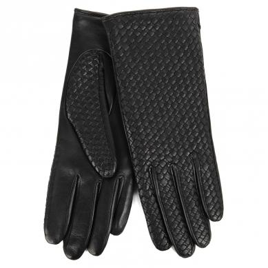 Перчатки AGNELLE CHLOE/BRAID/W черный