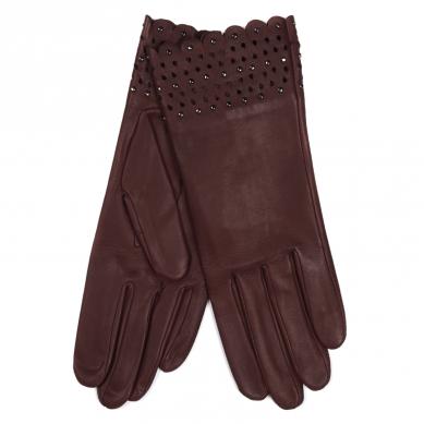 Перчатки AGNELLE SVETLANA/S бордовый