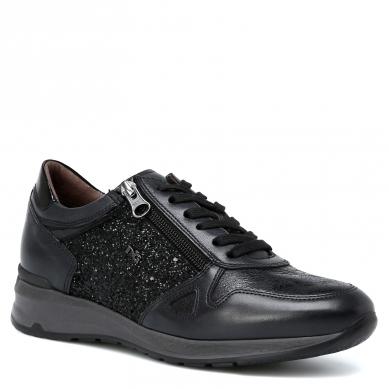 Кроссовки NERO GIARDINI A616056D серо-черный