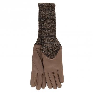 Перчатки AGNELLE CECILIA/A серо-коричневый