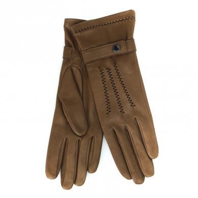 Перчатки AGNELLE RIC_CELINEOL коричневый