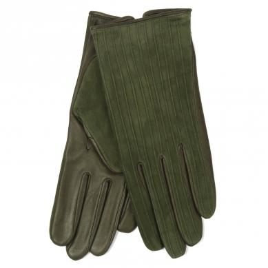 Перчатки AGNELLE HELENE/S темно-зеленый