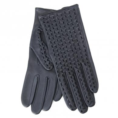 Перчатки AGNELLE PERFO TRESSE темно-синий