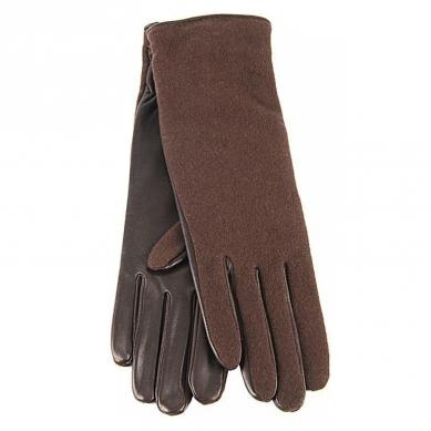 Перчатки AGNELLE 11/252/C100/S темно-коричневый