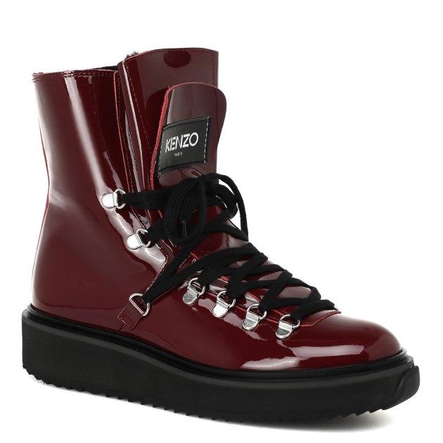8ef0dcc77a67 Ботинки KENZO 2BT301 БОРДОВЫЙ купить в интернет-магазине Rendez-Vous.ru    1697056