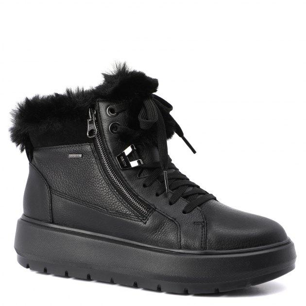 7a6e7aad9 Ботинки GEOX D84AWD ЧЕРНЫЙ - купить в Москве | 1855522