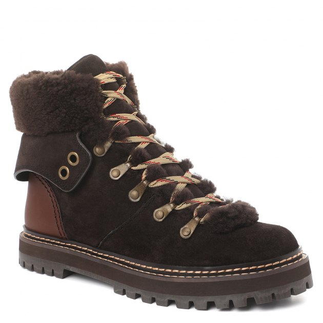 a1a7327319b8 Ботинки SEE BY CHLOE SB31120A ТЕМНО-СЕРЫЙ купить в интернет-магазине ...