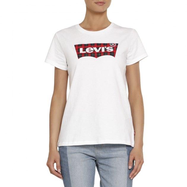 948c6831e0d9 Футболка LEVI'S THE PERFECT TEE 17369 БЕЛЫЙ - купить в Москве | 2089010