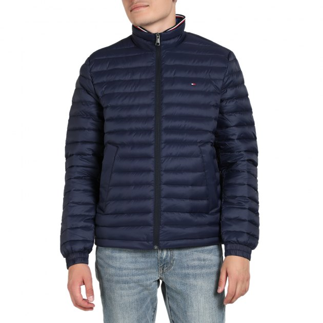 1f3fd8082977 Куртка TOMMY HILFIGER PACKABLE DOWN JACKET MW0MW10527 ТЕМНО-СИНИЙ ...