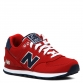 NEW BALANCE WL574 красный