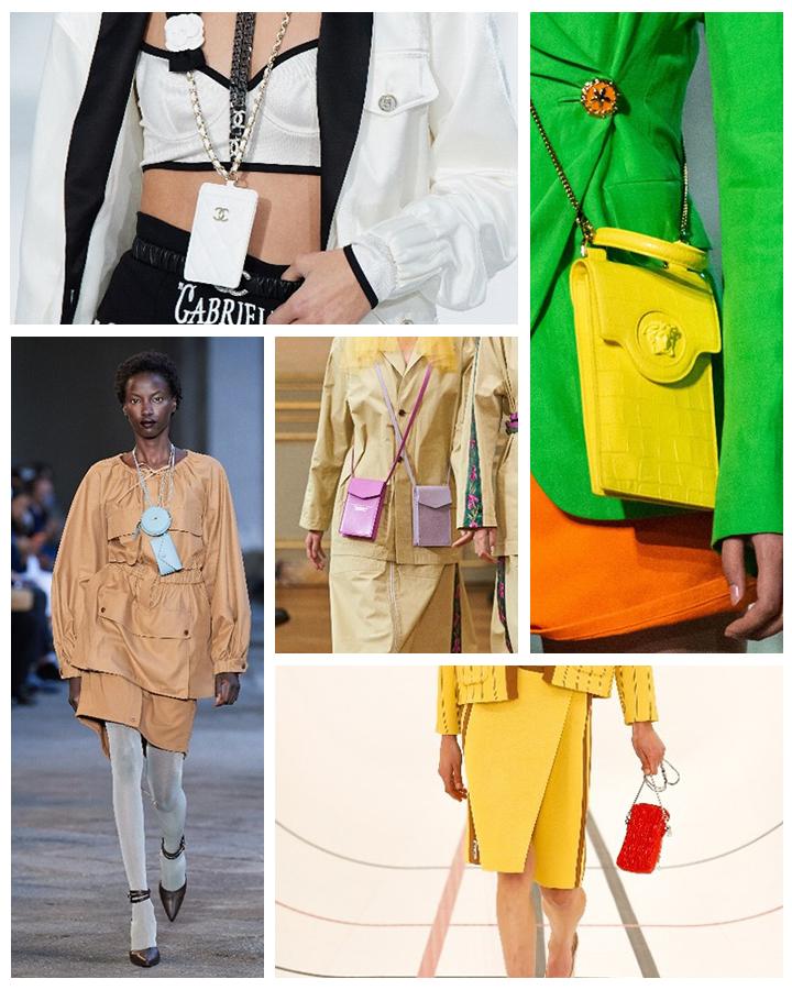 Тенденции сезона весна-лето 2021. Модные сумки: фото и образы